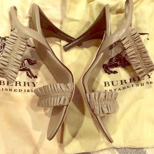 Burberry Nude Sandals